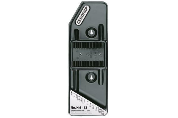GEDORE Plastikhalter leer für 12 Schlüssel No. 6 H 6-12 L