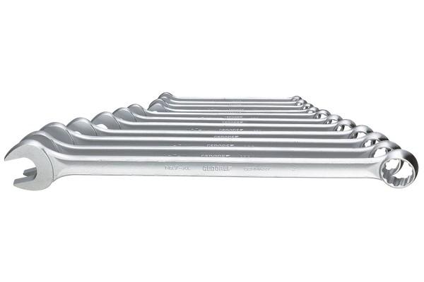 GEDORE Ring-Maulschlüssel-Satz, extra lang, 11-tlg 8-22 mm 7 XL-0111