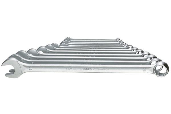 GEDORE Ring-Maulschlüssel-Satz, extra lang, 12-tlg 10-32 mm 7 XL-012