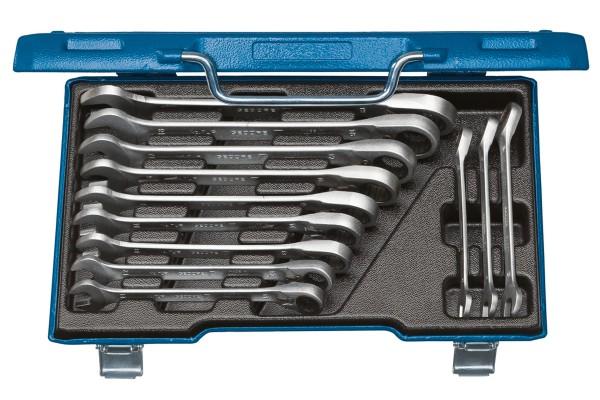 GEDORE Satz Maulschlüssel mit Ringratsche, umschaltbar 12-tlg 8-19 mm 7 UR-012